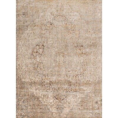 Central Jefferson Power Loom Desert Indoor Area Rug Rug Size: Round 96