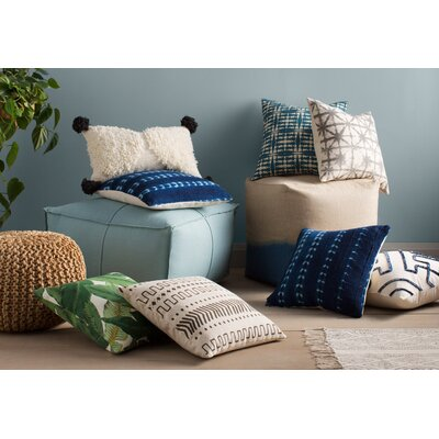 Wool/Cotton Lumbar Pillow
