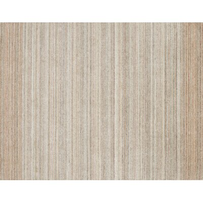 Fienley Hand-Loomed Silver/Blush Area Rug Rug Size: Rectangle 79 x 99