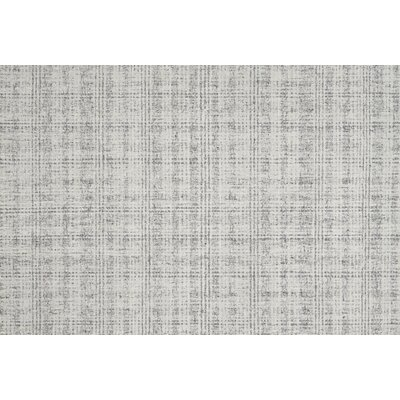 Stony Point Ivory/Charcoal Area Rug Rug Size: Rectangle 79 x 99