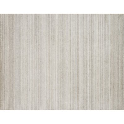 Fienley Hand-Loomed Ivory/Natural Area Rug Rug Size: Rectangle 56 x 86