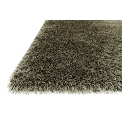 Tunley Hand-Tufted Ash Area Rug Rug Size: Rectangle 36 x 56