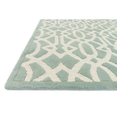 Dandridge Hand-Tufted Light Green Area Rug Rug Size: Rectangle 5' x 7'6