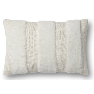 Mcbride Pillow Cover Fill Material: Polyester/Polyfill, Color: White