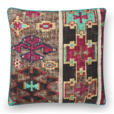 Hoffman Cotton Throw Pillow