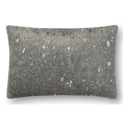 Brandt Lumbar Pillow Cover Color: Gray