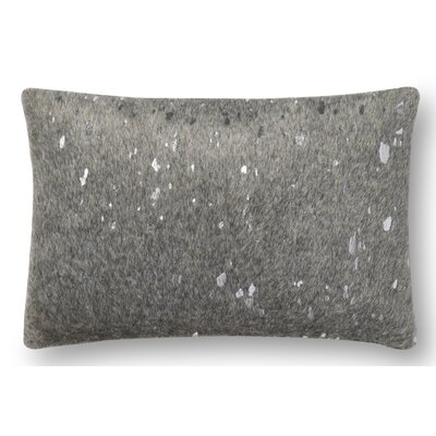 Hughes Lumbar Pillow Color: Gray