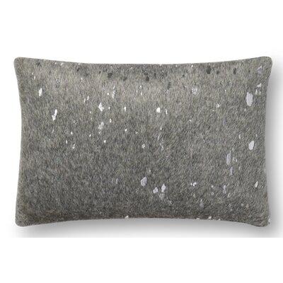 Hughes Lumbar Pillow Color: Gray