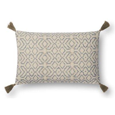 Greene Lumber Pillow Color: Blue