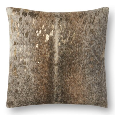 Knapp Throw Pillow Color: Khaki