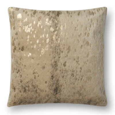 Knapp Throw Pillow Color: Beige