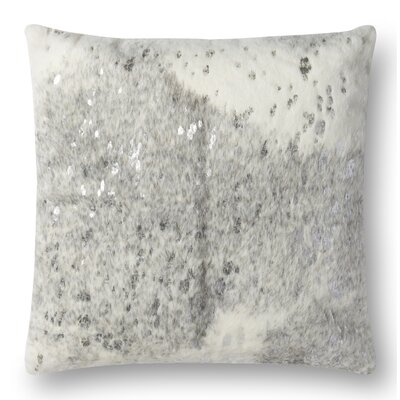 Humphrey Throw Pillow Cover Color: Pearl