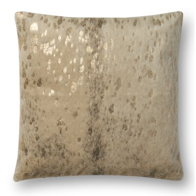 Humphrey Throw Pillow Cover Color: Beige