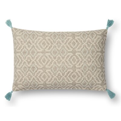 Stewart Lumbar Pillow Cover Color: Beige