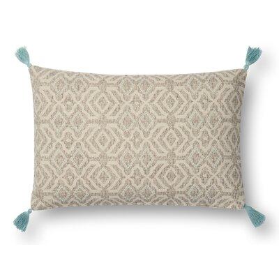 Brewer Lumbar Pillow Color: Beige
