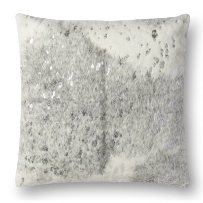 Knapp Throw Pillow Color: Pearl