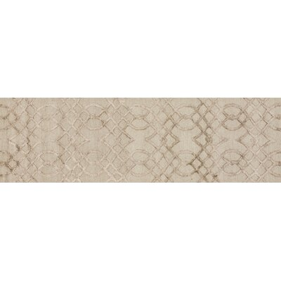 Panache Taupe Area Rug Rug Size: Runner 23 x 79