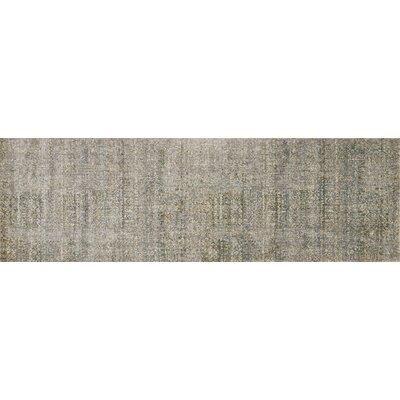 Javari Ivory/Sea Area Rug Rug Size: Runner 26 x 8