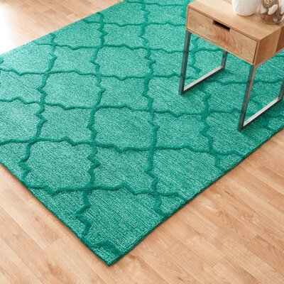 Circa Emerald Area Rug Rug Size: Rectangle 5 x 76