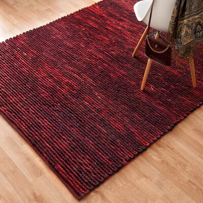 Hogan Poinsettia Blue Area Rug Rug Size: 36 x 56