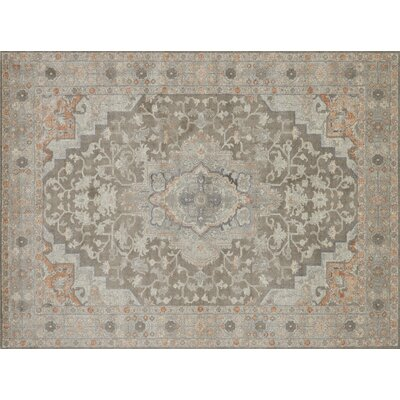 Adelbert Oriental Taupe Area Rug� Rug Size: Rectangle 12 x 15