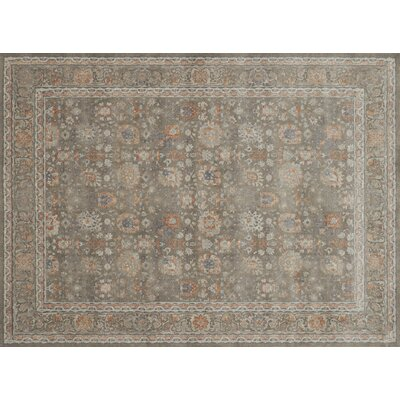 Adelbert Taupe Area Rug� Rug Size: Rectangle 12 x 15