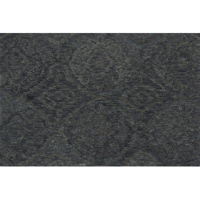 Cherrelle Hand-Hooked Wool Ink Area Rug� Rug Size: Rectangle 79 x 99