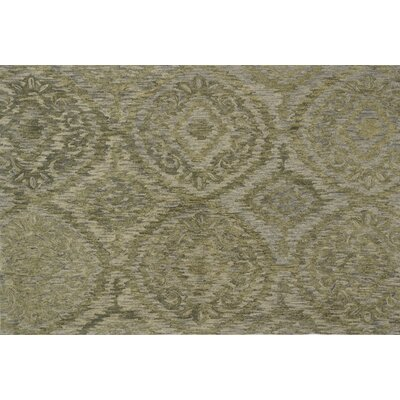 Cherrelle Hand-Hooked Wool Sage Area Rug� Rug Size: Rectangle 79 x 99