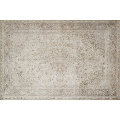 Raul Sand/Taupe Area Rug� Rug Size: 76 x 96