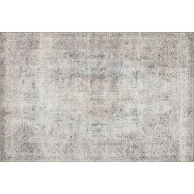 Rakesh Silver/Slate Area Rug� Rug Size: Rectangle 26 x 76
