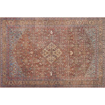 Raul Red Area Rug� Rug Size: 36 x 56