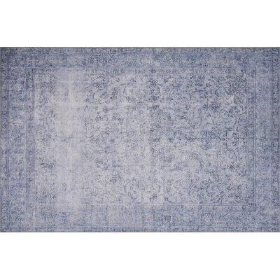 Rakesh Slate Area Rug� Rug Size: Rectangle 76 x 96