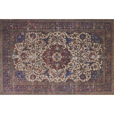Raul Sand Area Rug� Rug Size: Rectangle 23 x 39