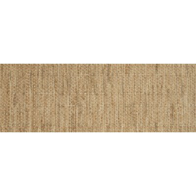Beacon Hand-Woven Brown Area Rug Rug Size: Runner 26 x 76