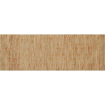 Beacon Hand-Woven Tangerine Area Rug Rug Size: Runner 26 x 76