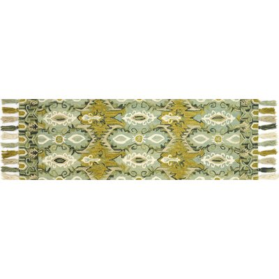 Zambrana Blue/Green Area Rug Rug Size: Runner 26 x 76