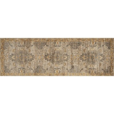 Josephine Brown Area Rug Rug Size: Runner 26 x 76