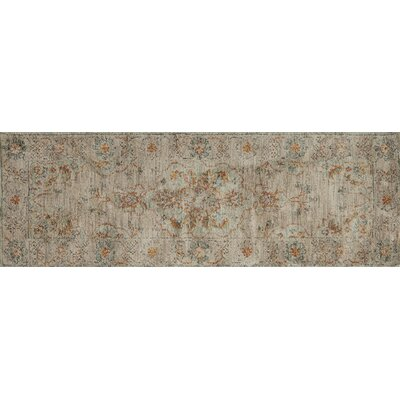 Durfee Brown Area Rug Rug Size: Runner 26 x 76