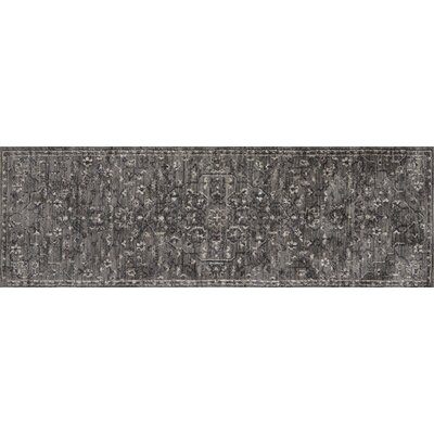 Josephine Pewter Area Rug Rug Size: Runner 26 x 76