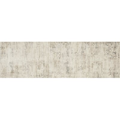 Kingston Ivory Area Rug Rug Size: Runner 27 x 12