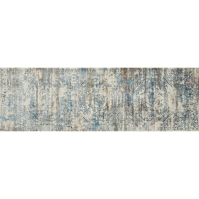 Abella Ivory Area Rug Rug Size: Runner 27 x 8