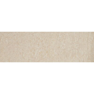 Lyle Hand-Hooked Blush Area Rug Rug Size: Runner 26 x 76