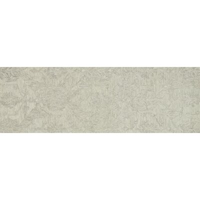 Lyle Hand-Hooked Mist Area Rug Rug Size: Runner 26 x 76