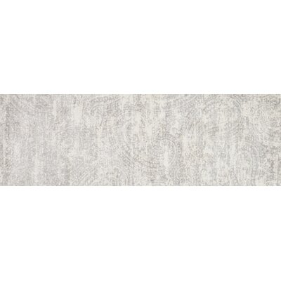 Gray Area Rug Rug Size: Runner 27 x 8