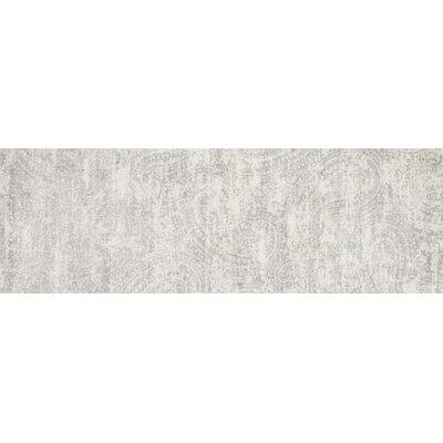 Torrance Gray Area Rug Rug Size: Runner 27 x 8