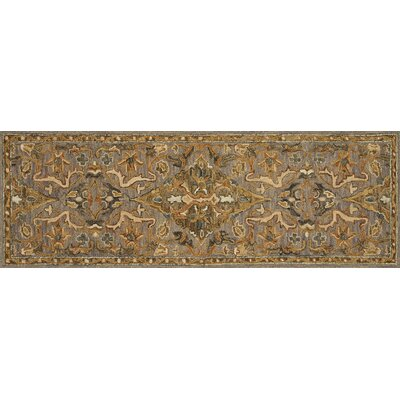 Watertown Gray/Brown Area Rug Rug Size: Runner 26 x 76