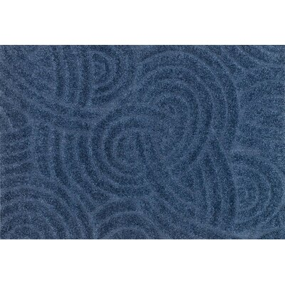 Enchant Navy/Light Blue Area Rug Rug Size: Rectangle 77 x 106
