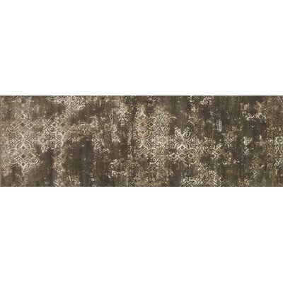 Abella Brown Area Rug Rug Size: Runner 27 x 10