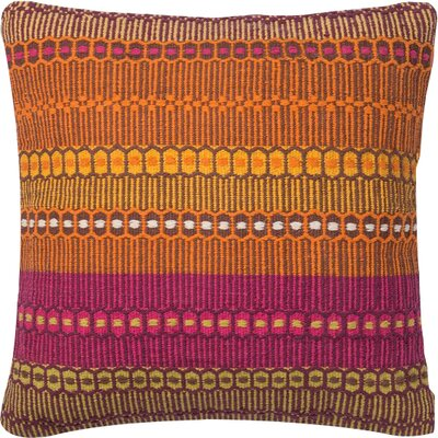 Worton Pillow Cover Size: 18 H x 18 W x 0.25 D, Color: Melbourne