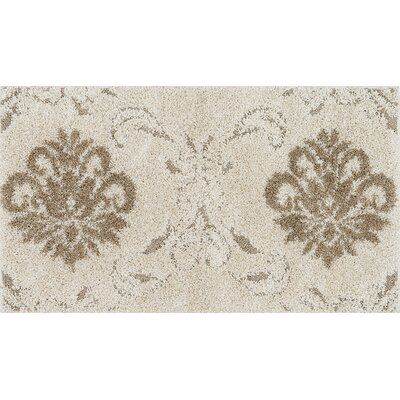 Dania Beige/Ivory Area Rug Rug Size: Rectangle 23 x 39